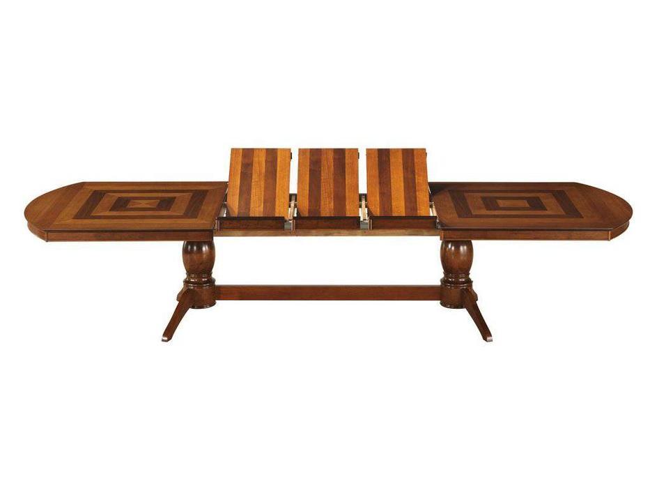 Florence: Jupiter: стол обеденный  раскладной (дуб в красноту)
