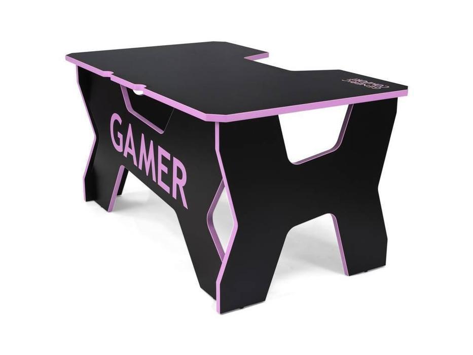 Generic Comfort: Gamer: стол компьютерный  (черный, розовый)
