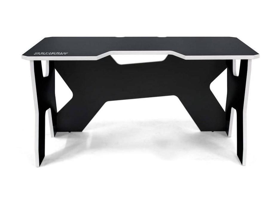 Generic Comfort: Gamer: стол компьютерный  (черный, белый)