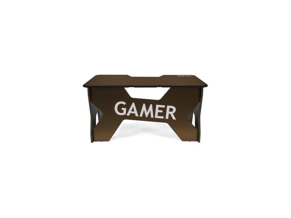 Generic Comfort: Gamer: стол компьютерный  (черный, коричневый)