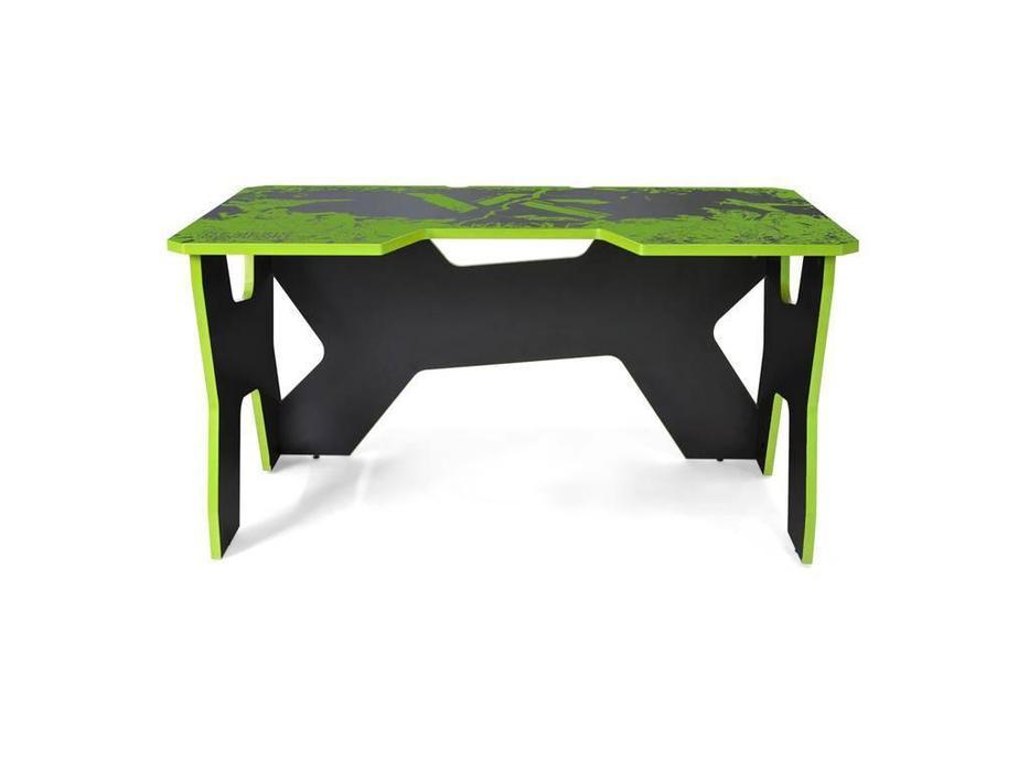 Generic Comfort: Gamer: стол компьютерный  (черный, зеленый)