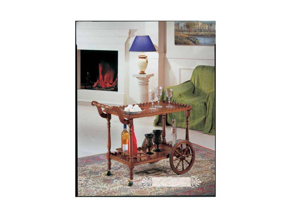 Tarocco Vaccari: Luxury: сервировочный столик  (орех)