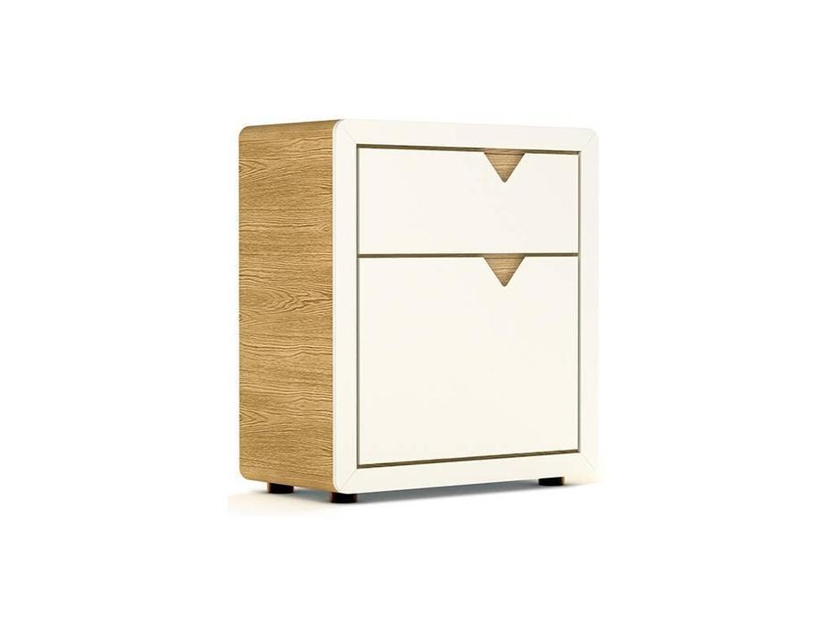 Timoore: Frame: комод  1 дверь, 1 ящик (дуб, кремовый)