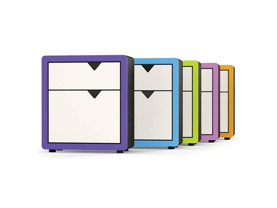 Timoore: Frame: комод  1 дверь, 1 ящик (дуб, фиолетовый)