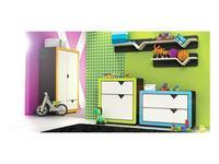 Timoore: Frame: детская комната (графит, зеленый)