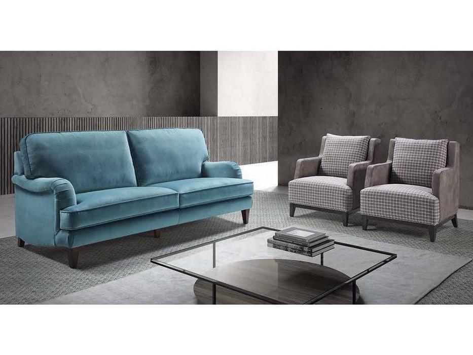 Manuel Larraga: Alejandria: диван 3 местный  (ткань кат. В)