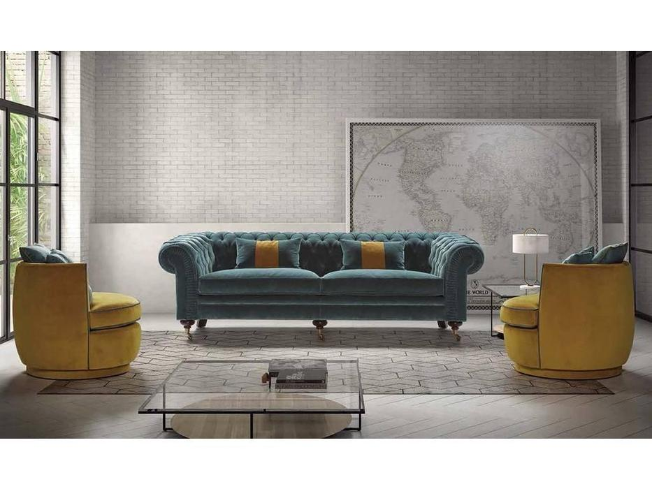 Manuel Larraga: Chester: диван 3 местный  (ткань кат. В)