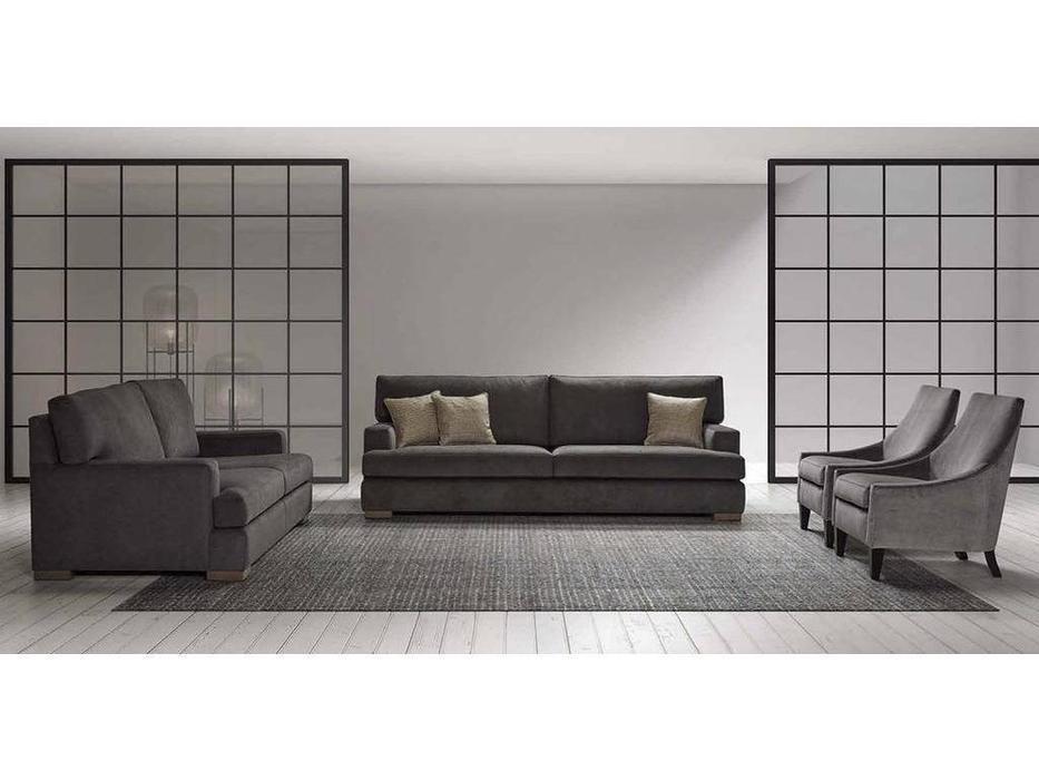 Manuel Larraga: New York: диван 3 местный  (ткань кат. В)