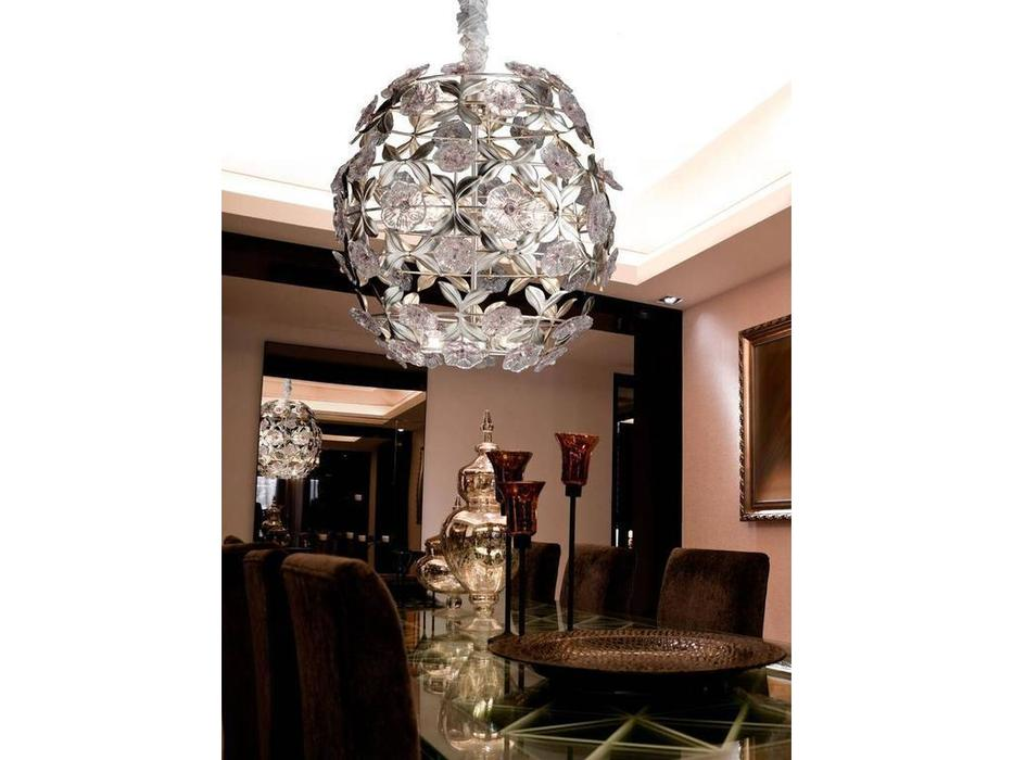 Euro Lamp Art: Angelica: люстра подвесная  (серебро)