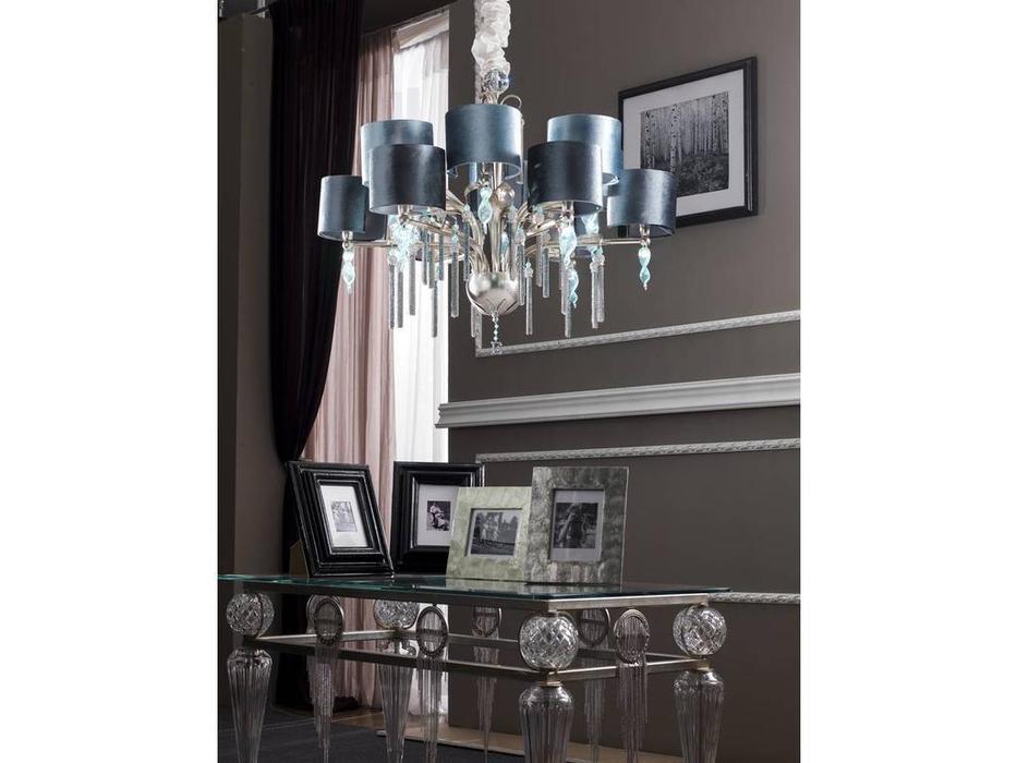 Euro Lamp Art: Guenda: люстра подвесная  (серебро)