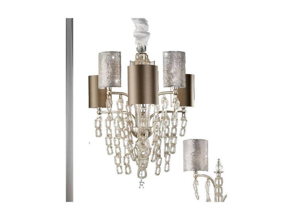Euro Lamp Art: Luna: люстра подвесная  (серебро)
