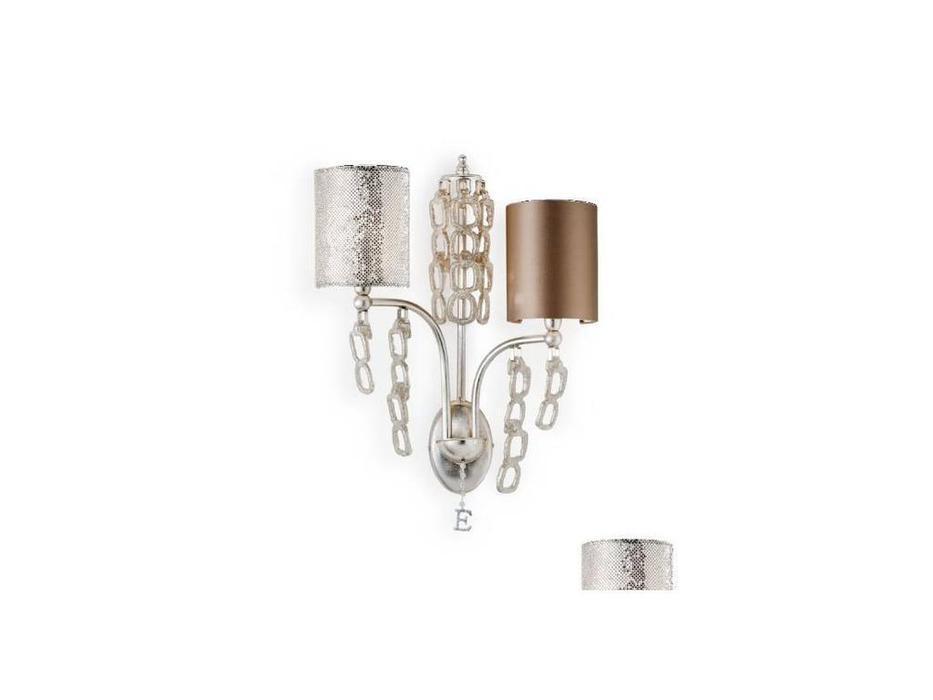 Euro Lamp Art: Luna: бра  2 рожка (серебро)