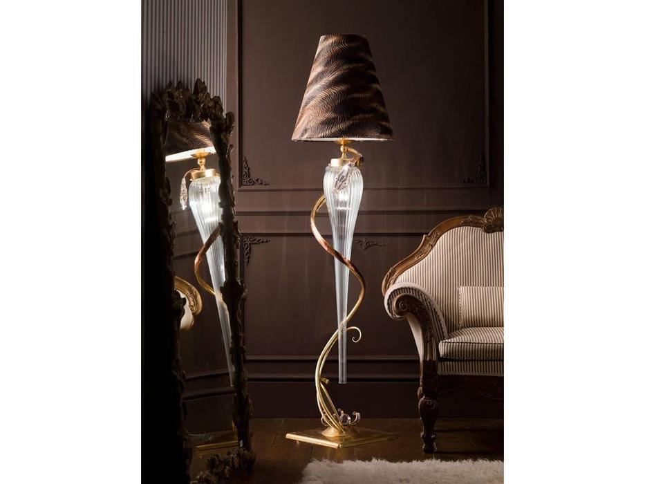 Euro Lamp Art: Cobra: торшер  (золото)