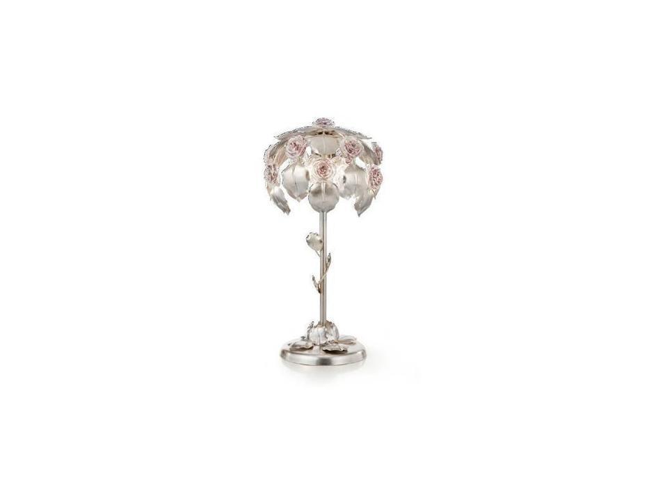 Euro Lamp Art: Rose: лампа настольная  (серебро)
