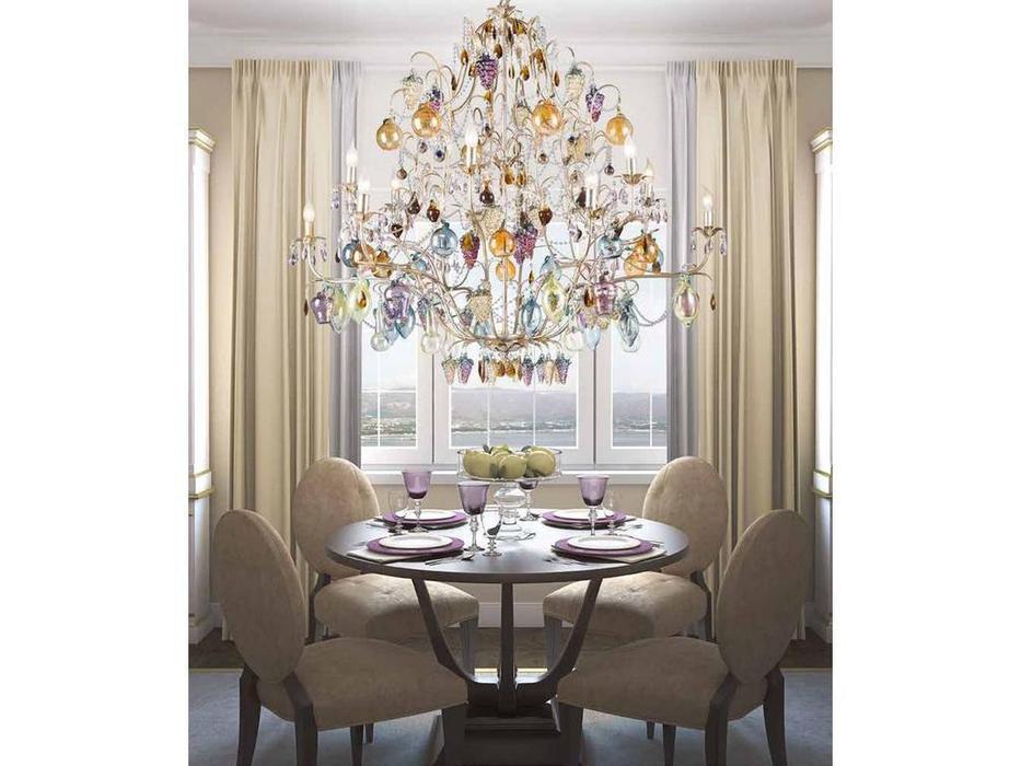 Euro Lamp Art: Anthea: люстра подвесная  (серебро)