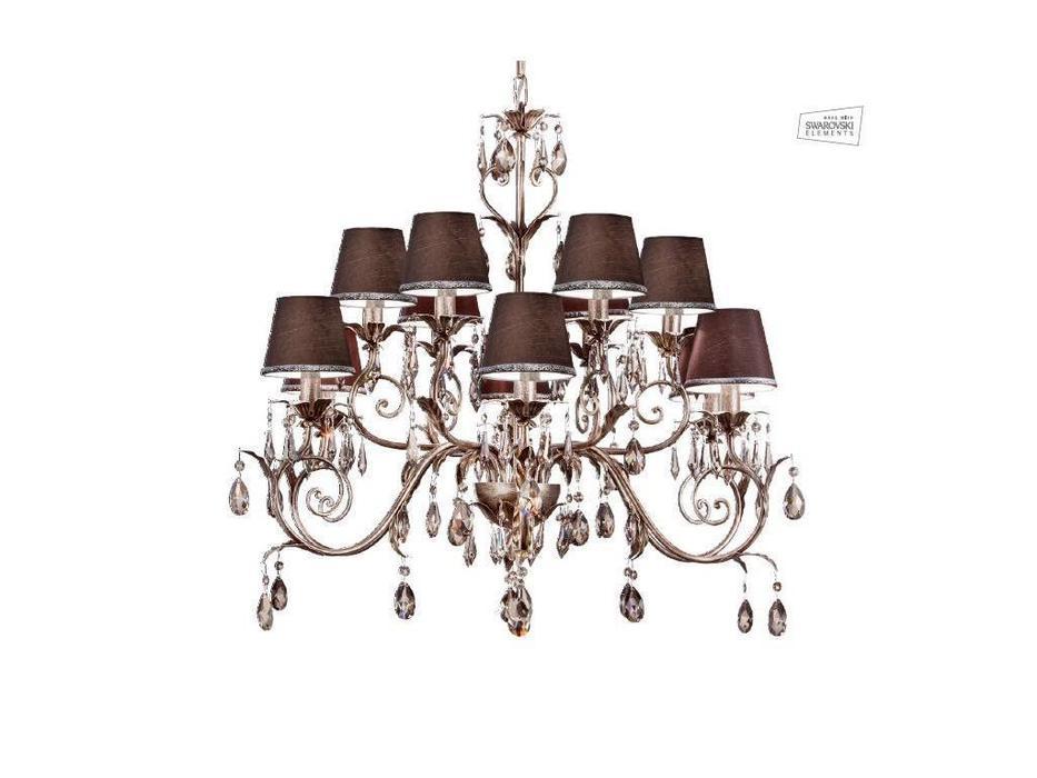Euro Lamp Art: Acqua: люстра подвесная  (золото с патиной)