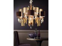 Euro Lamp Art: Guenda: люстра подвесная  (золото)