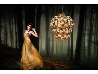 Euro Lamp Art: Rose: люстра подвесная  (золото)