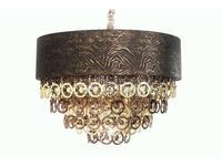 Euro Lamp Art: Anelli: люстра подвесная  (золото)