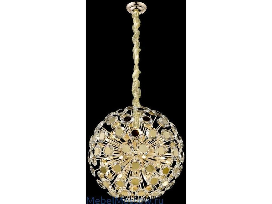 Wertmark: Brunella: люстра  (золото, хрусталь)