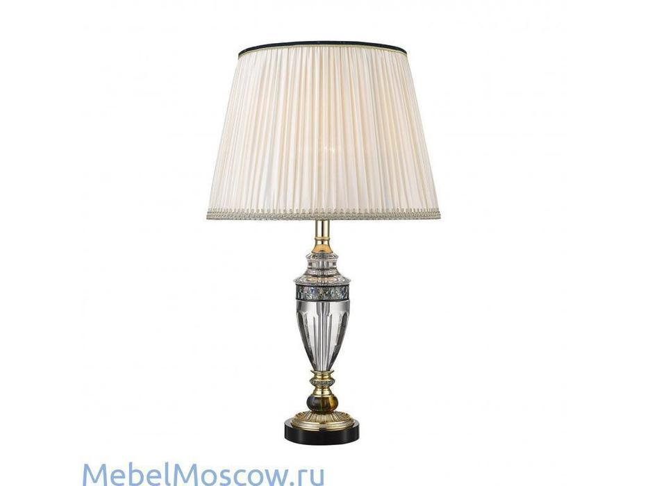 Wertmark: TULIO: лампа настольная  (золото, хрусталь)