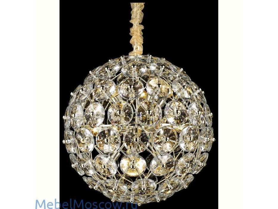 Wertmark: Brillant: люстра  (s-gold, хрусталь)