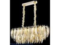 Wertmark: Orlanda: люстра  (белое золото, хрусталь)