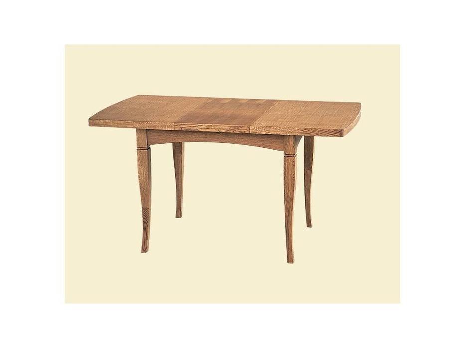 Лорес: Английский: стол обеденный раскладной (дуб)