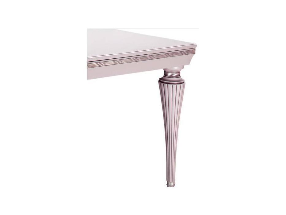 Лорес: Далорес: стол обеденный  Далорес 3 (белый, серебро)