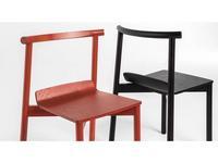 Artu: Wox: стул деревянный (красный)