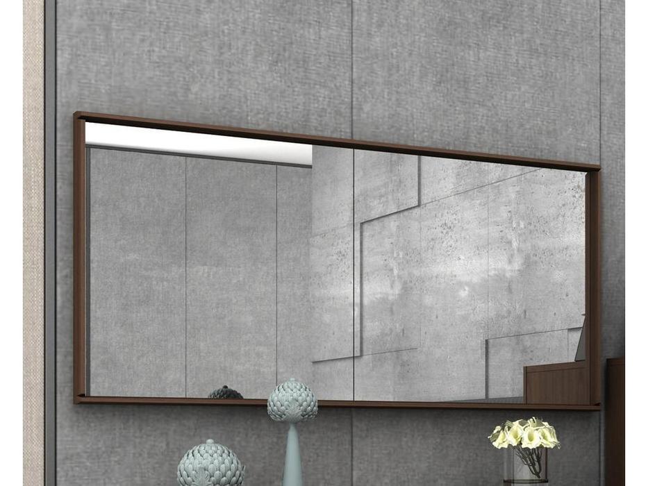 Mod Interiors: Menorca: зеркало навесное  (орех)