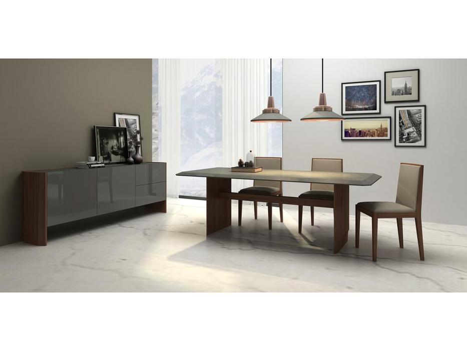 Mod Interiors: Avila: гостиная  (орех, серый)