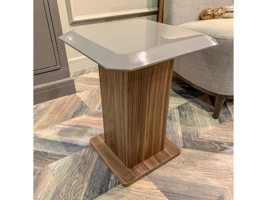 Mod Interiors: Avila: столик приставной  (орех, серый)
