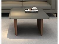 Mod Interiors: Avila: стол журнальный  (орех, серый)