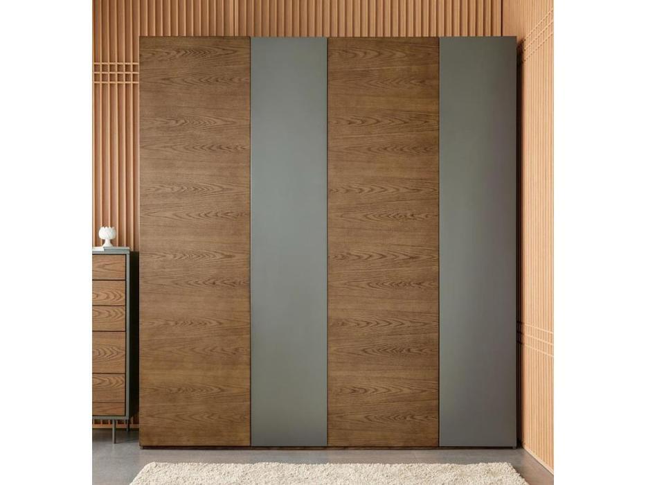 Mod Interiors: Avila: шкаф 4 дверный  (орех)
