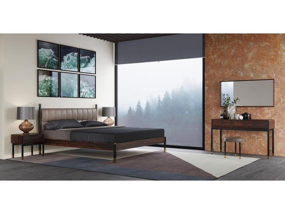Mod Interiors: Benissa: зеркало навесное  (эбеновое дерево)