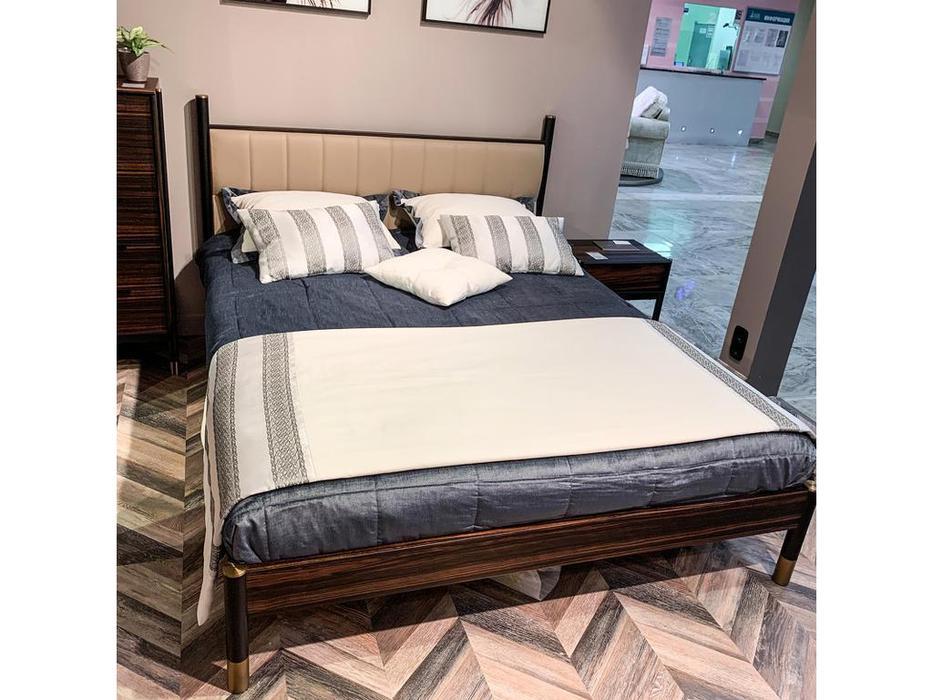 Mod Interiors: Benissa: кровать 180х200  (эбеновое дерево)