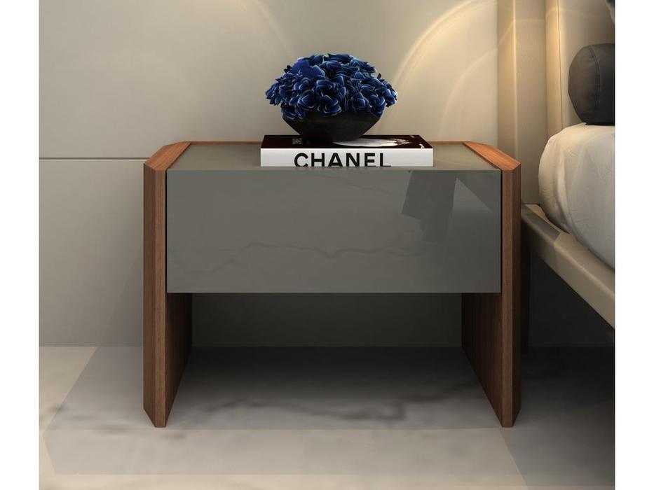 Mod Interiors: Avila: тумба прикроватная  (орех, серый)