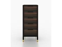 Mod Interiors: Benissa: комод высокий  (эбеновое дерево)