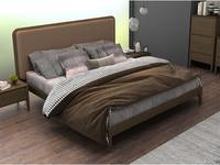 Mod Interiors: Paterna: кровать 180х200  (дуб, бежевый)