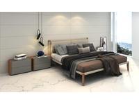 Mod Interiors: Avila: спальная комната  (орех, серый)