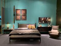Mod Interiors: Benissa: спальная комната  (эбеновое дерево)
