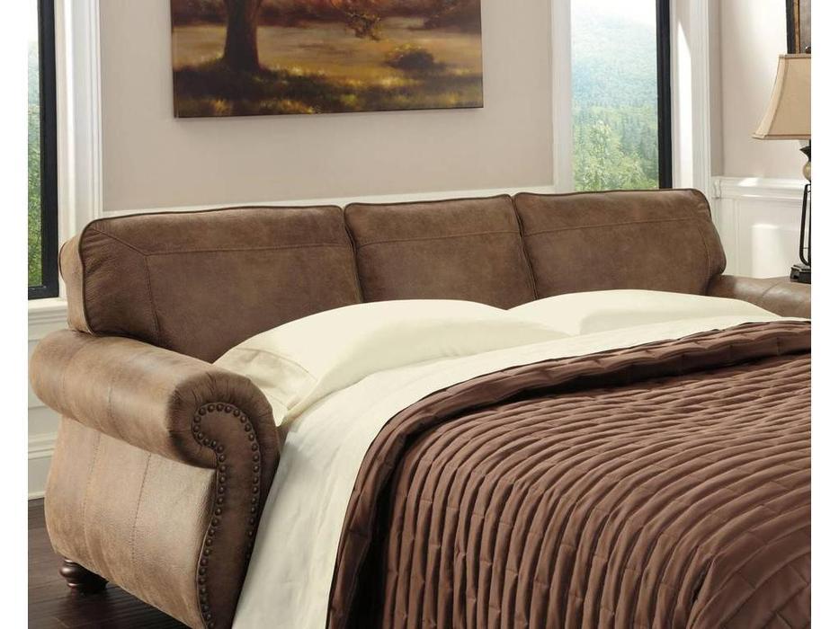 Ashley: Larkinhurst: диван 3-х местный  раскладной (коричневый)
