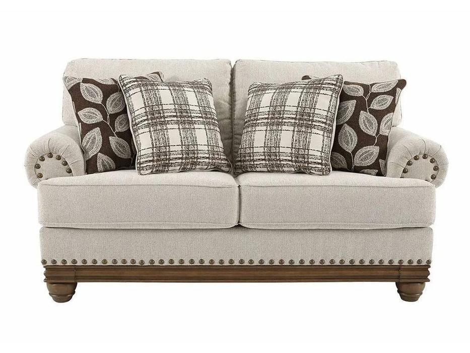 Ashley: Harleson: диван 2-х местный  (бежевый)