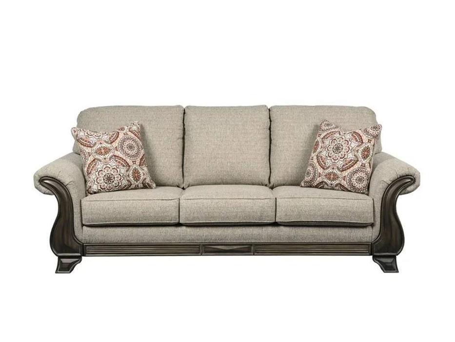 Ashley: Claremorris: диван 3-х местный  (серый)