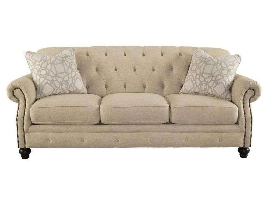 Ashley: Kieran: диван 3-х местный  (бежевый)