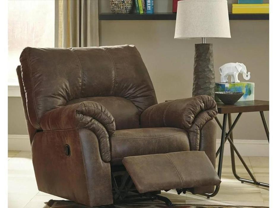 Ashley: Bladen: кресло-реклайнер  (коричневый)