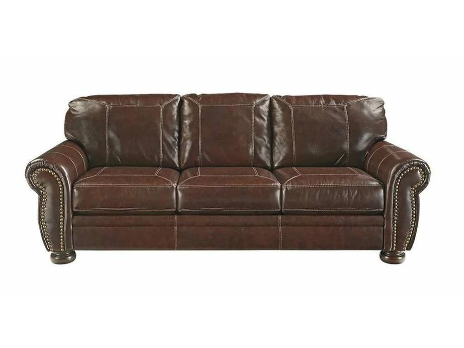 Ashley: Banner: диван 3-х местный  (коричневый)