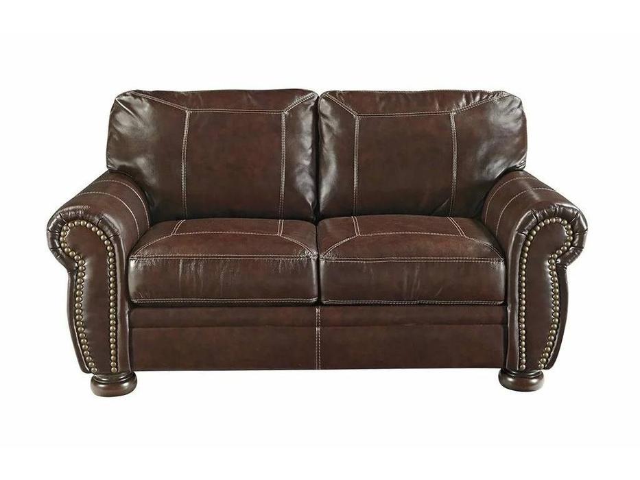 Ashley: Banner: диван 2-х местный  (коричневый)