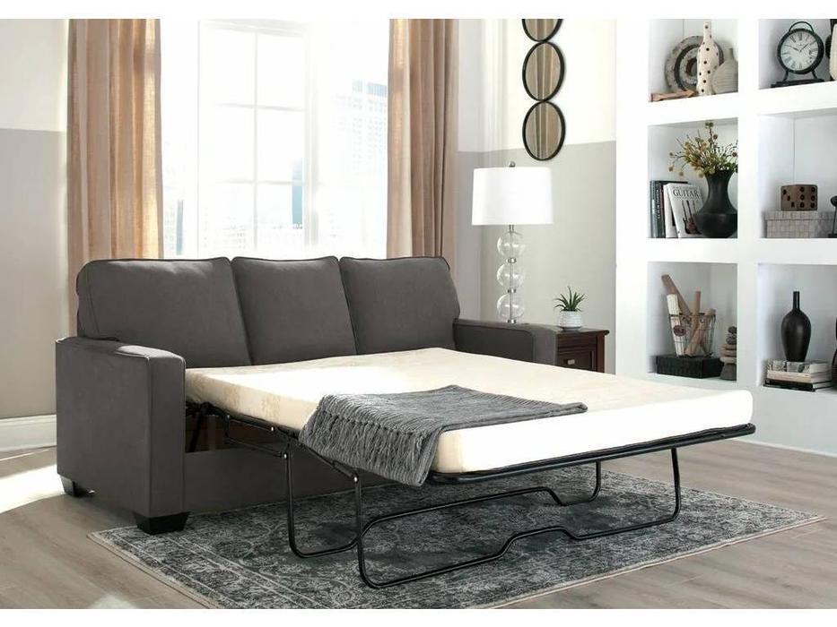 Ashley: Zeb: диван 3-х местный  раскладной (серый)